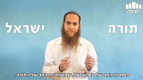 פסח שני- החיבור של תורה וישראל