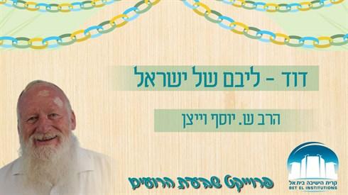 האושפיזין היומי - דוד - ליבם של ישראל