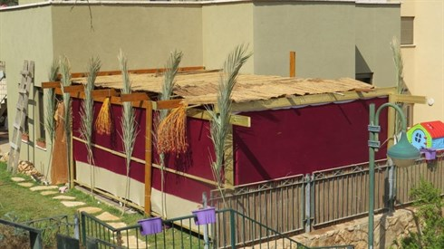 Together in the Sukkah