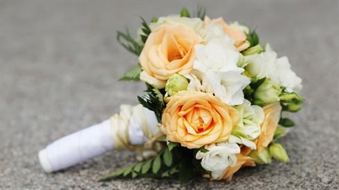זר כלה בחתונה
