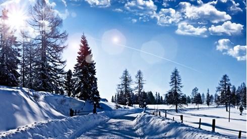 השלג בהלכה